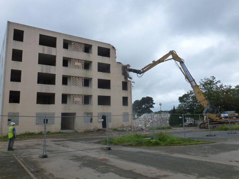 Démolition immeubles LE GUMENEN AURAY (4)