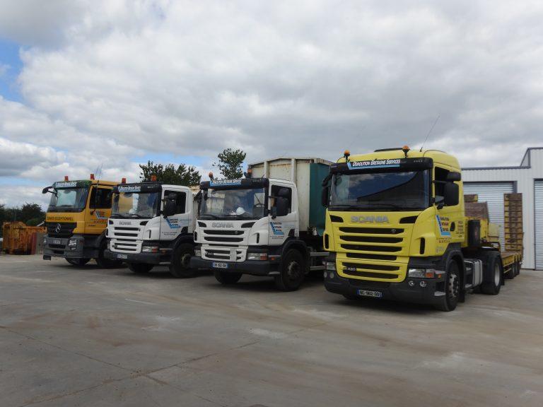 Quelques camions