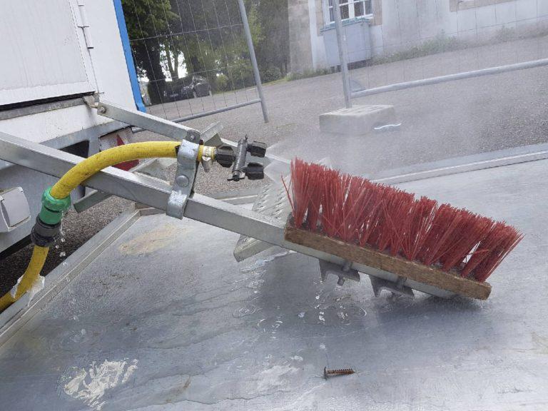 protection chantier desamiantage vannes