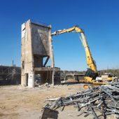 chantier de demolition vannes